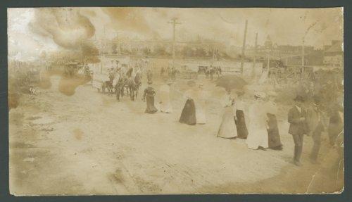 Circus parade in Dodge City, Kansas - Page