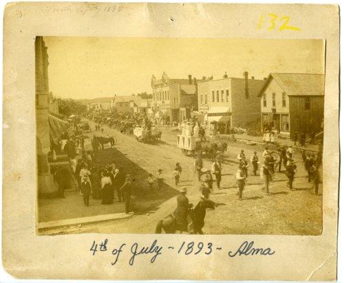 4th of July parade in Alma, Kansas - Page