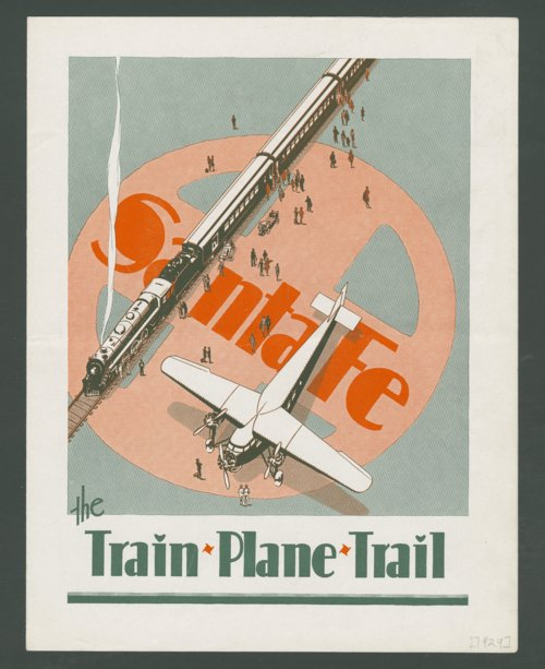 Santa Fe The Train, Plane, Trail - Page