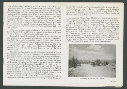 Hermit Rim, Road & Trail Grand Canyon - Page