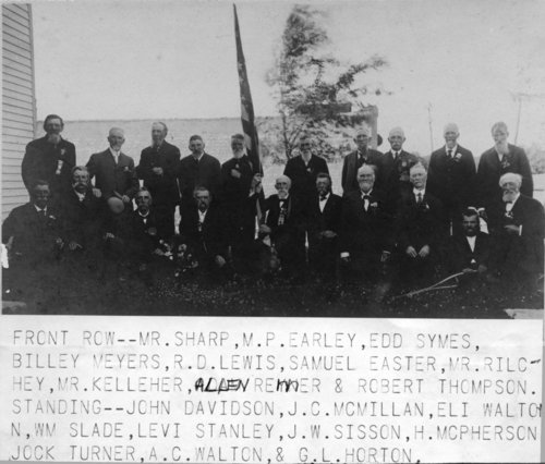 Grand Army of the Republic meeting in Harveyville, Kansas - Page