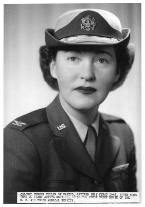 Colonel Verena Zeller - Page
