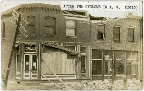 Rexall Drug Store and Post Office, Alta Vista, Kansas - Page