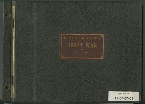 John H. Plumb World War I scrapbook - Page