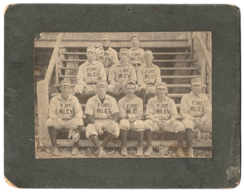 Fort Riley baseball team - Page
