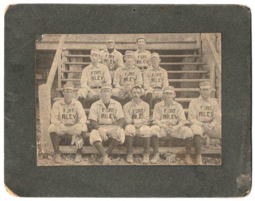 Fort Riley baseball team - Page