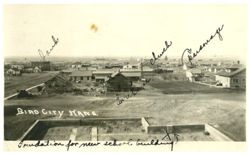 View of Bird City, Kansas - Page
