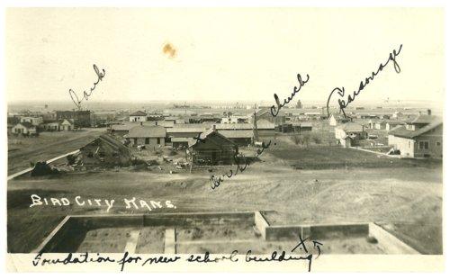 View of Bird City, Kansas - Page
