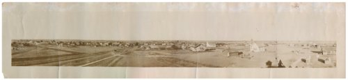 Panoramic view of Bird City, Kansas - Page