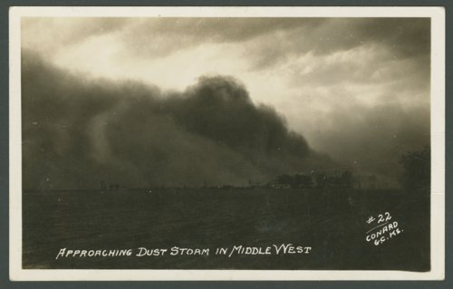 Approaching dust storm in the middle west - Page