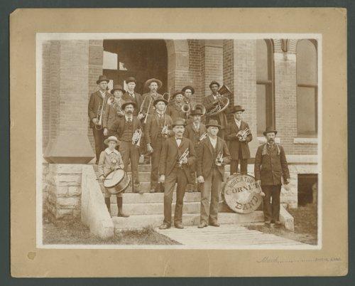 Cornet band, Norcatur, Kansas - Page