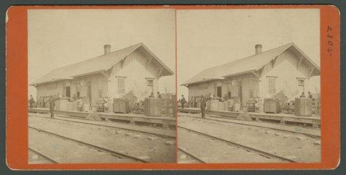 Atchison, Topeka and Santa Fe Railway Company depot, Larned, Kansas - Page