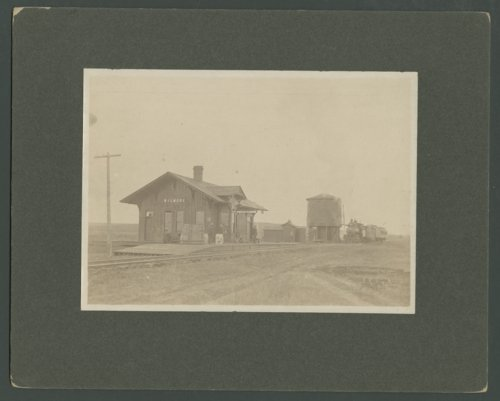 Atchison, Topeka and Santa Fe Railway Company depot, Wilmore, Kansas - Page