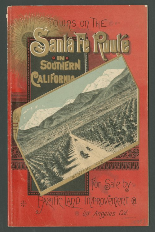 Towns on the Santa Fe Route in Southern California - Page