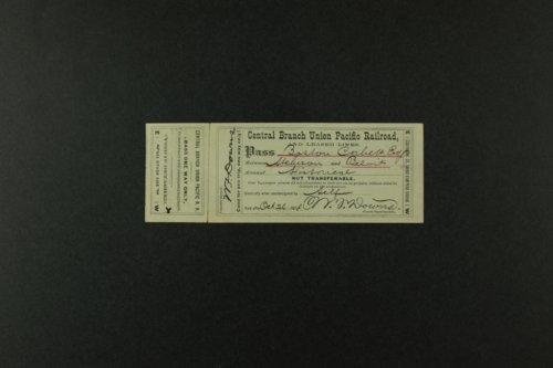 Boston Corbett's personal documents - Page
