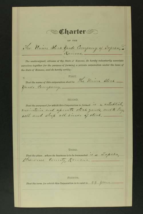 Union Stock Yards Company records - Page