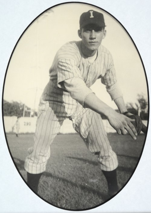 Harland Coffman of the Independence, Kansas baseball team - Page