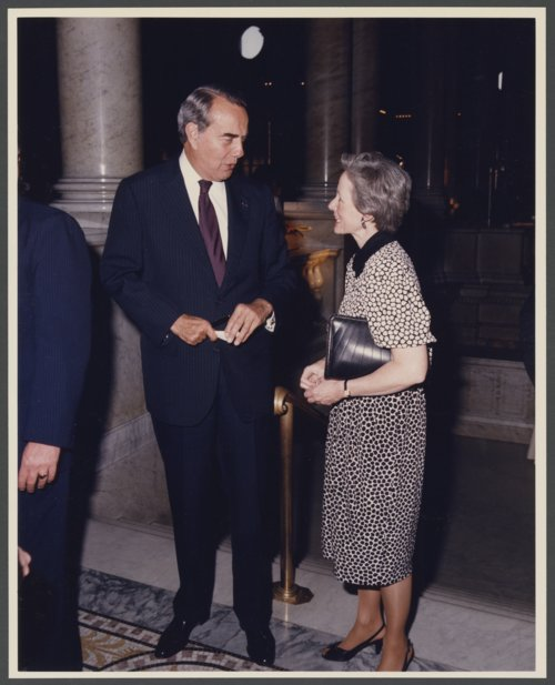 Senators Robert Joseph Dole and Nancy Landon Kassebaum - Page