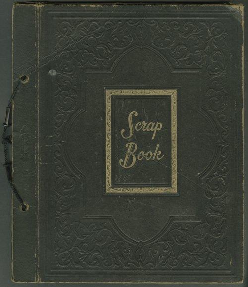 Paul Packer baseball scrapbook - Page