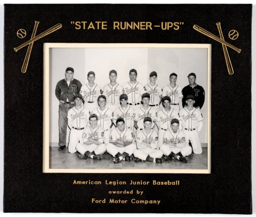 Mosby-Mack baseball team in Topeka, Kansas - Page