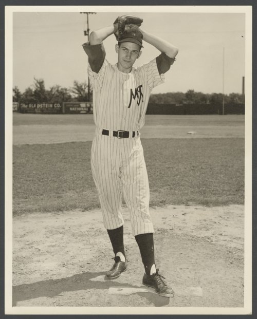 Ted Worthington of the McAlester, Oklahoma baseball team - Page