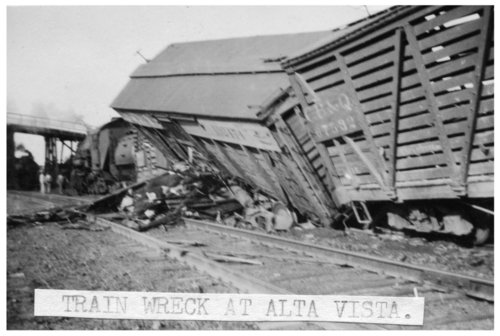 Train wreck at Alta Vista, Kansas - Page