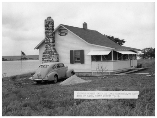 Richard Sommer's cabin on Lake Wabaunsee - Page