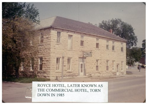 Royce Hotel in Alma, Kansas - Page