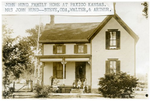 John Hund family in Paxico, Kansas - Page
