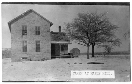 Stone house in Maple Hill, Kansas - Page