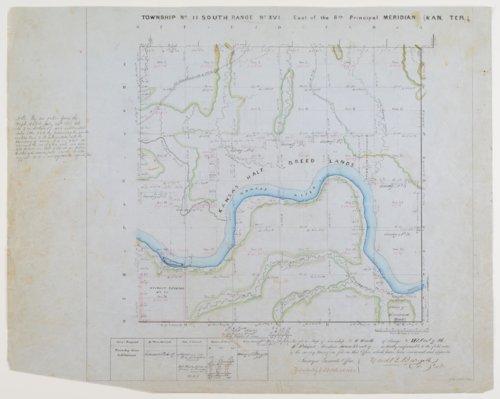 Kansas land survey plats - Page