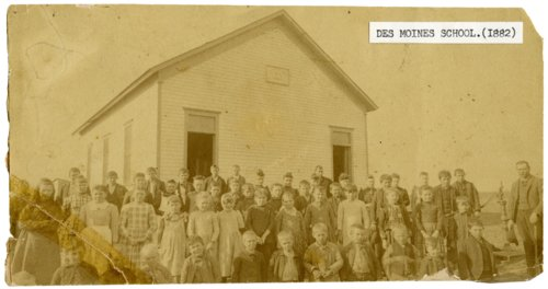 Des Moines School, Wabaunsee County, Kansas - Page