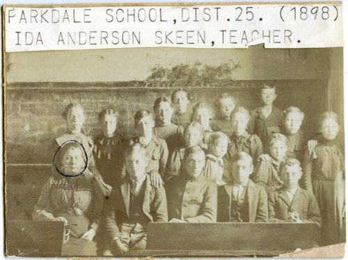 Parkdale School, District 25, Wabaunsee County, Kansas - Page