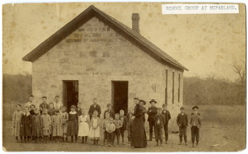 Rural school in McFarland, Kansas - Page