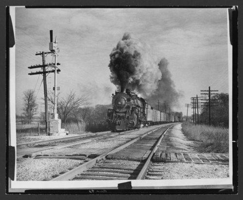 Atchison, Topeka & Santa Fe Railway Company's steam locomotive #4083 - Page