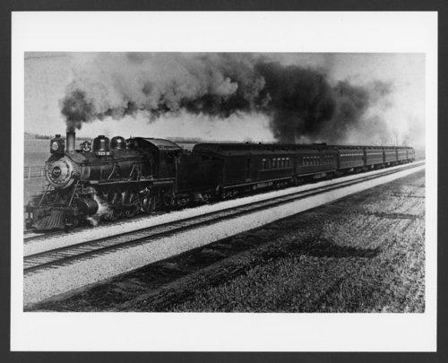 Atchison, Topeka & Santa Fe Railway Company's steam locomotive #529 - Page