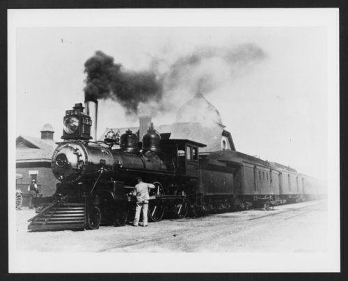 Atchison, Topeka & Santa Fe Railway Company's steam locomotive #244 - Page