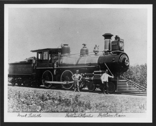 Atchison, Topeka & Santa Fe Railway Company's steam locomotive #504 - Page
