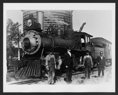 Atchison, Topeka and Santa Fe Railway Company's steam locomotive #0112 - Page