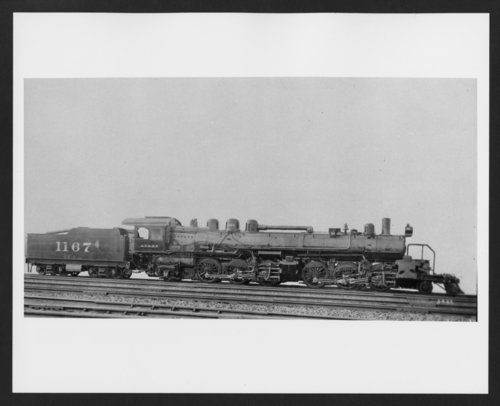 Atchison, Topeka & Santa Fe Railway Company's steam locomotive #1167 - Page