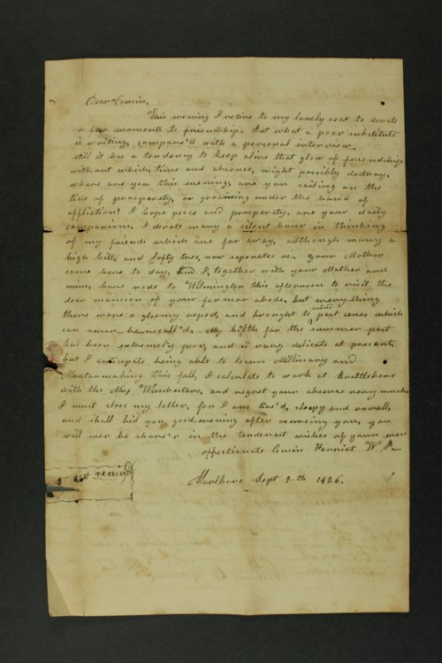Isaac Goodnow correspondence - Page