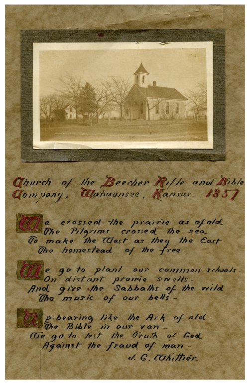 Beecher Bible and Rifle Church, Wabaunsee, Kansas - Page