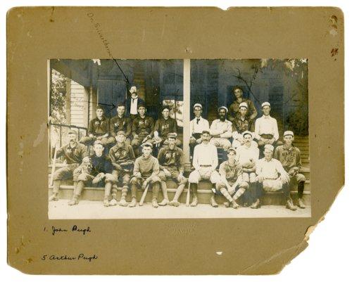 McFarland and Maple Hill baseball teams - Page