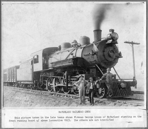 Chicago, Rock Island and Pacific Railway crew in McFarland, Kansas - Page