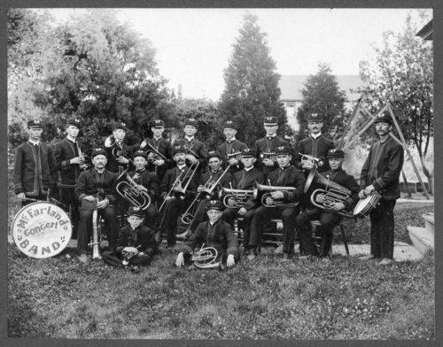 McFarland concert band in McFarland, Kansas - Page