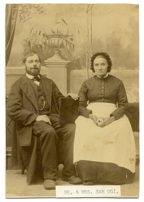 Samuel and Marie Ogi - Page
