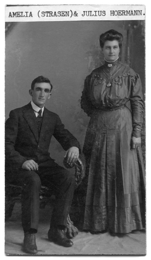 Julius and Amelia Hoerman - Page
