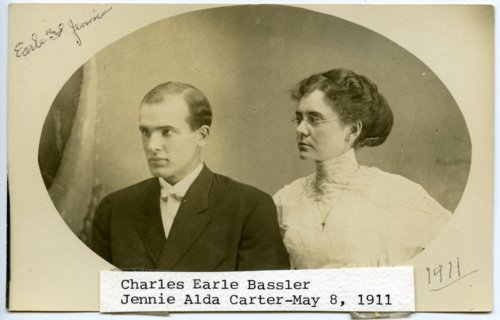 Charles Earle Bassler and Jennie Alda Carter - Page