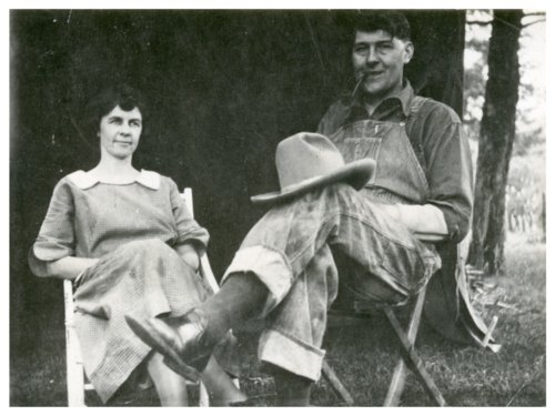 Otto and Carrie Grunewald - Page