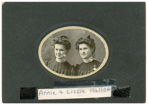 Annie and Lizzie Haller - Page